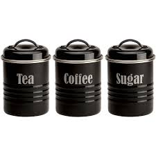Black Kitchen Canister Set Sugar Tea Images Reverse Search