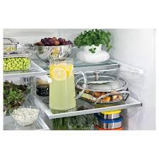 ge glass door refrigerator pwe23kskss ge profile 36