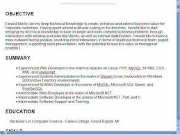Job Objectives For Resumes Good Resume Objectives 7 How To Write A Objective For Of Your 1