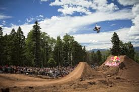 bmx rider pat casey competes at the 2013 red bull dreamline dirt