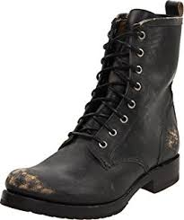 buy combat boots womens amazon com frye s combat boot ankle bootie