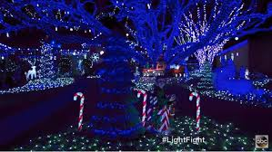 blue christmas lights winners of the great christmas light fight 2017 live design
