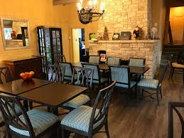 lake terrace dining room home