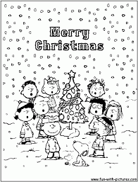 snoopy christmas coloring pages free coloring