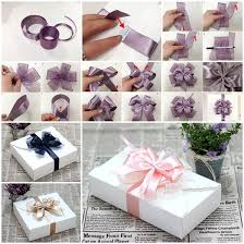 gift boxes with bow diy ribbon bow for gift box packaging