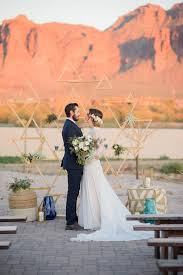 wedding backdrop modern modern southwestern wedding in serenity quartz