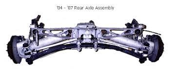 corvette rear suspension corvette rear suspension