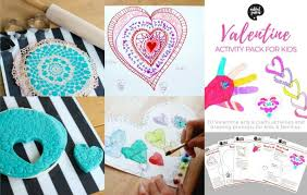 valentines for kids 30 crafts and activities for kids with printable list