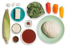 recipe sweet corn u0026 tinkerbell pepper pizza fontina cheese