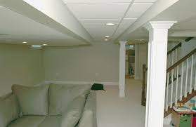 basement drop ceiling finished basement with drop ceiling