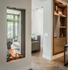 fireplace trends top fireplace design trends in 2018 vertical double glass fireplaces