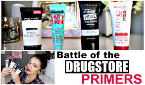 battle of the best drugstore primers 2015 youtube