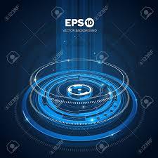 imagenes abstractas con circulos imágenes abstractas en azul los círculos tecnológicos de diseño de