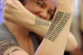 Tattoos In - 2016 366 79 best binary literary tattoos in the universe flickr