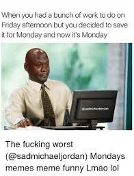 Mondays Meme - funny monday work meme mne vse pohuj