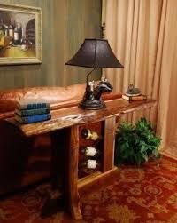 Walnut Sofa Table by Sofa Table Wine Rack Foter