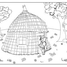 brick house coloring kids drawing coloring pages marisa