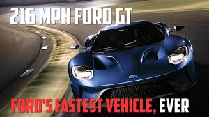 a nearly 300 mph twin turbo ford gt sets a standing mile record