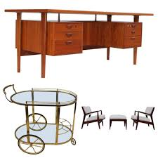 retro modern desk vintage furniture and accessories at modern retro finds downtown