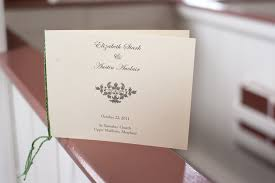 Simple Wedding Ceremony Program Simple And Beautiful Maryland Wedding Ceremony Liz Austin