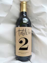 gold wine bottle table numbers wine table number wine bottle table number wedding wine table