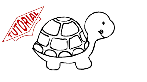 coloring page turtle coloring pages turtle cartoon drawing easy drawings maxvision