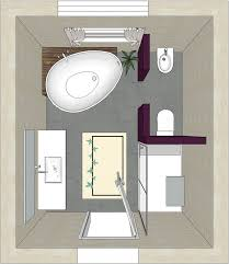 bad freistehende badewanne dusche bad grundriss idee bathroom badplanung