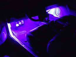 Interior Car Led Light Kits Amazon Com Purple Led Neon Interior Lighting Kit Automotive