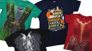 mickey halloween shirt hocus pocus u0027 apparel returns to disney parks online store from