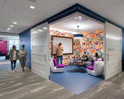 Creative Office Design Inside Splunk U0027s Super Cool San Francisco Headquarters Architects