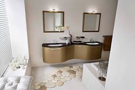Unique Bathroom Vanities Ideas by Unique Bath Rugs With Luxury Bathroom Vanity Units And Lights