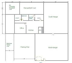 Hangar Home Floor Plans Auction Information