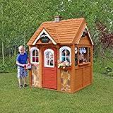 Wooden Backyard Playhouse Amazon Com Kidkraft Outdoor Playhouse Toys U0026 Games