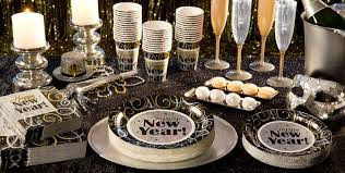 new year supplies sparkling new year party theme decorations tableware party city