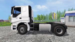 stralis v8 lowcab for farming simulator 2015