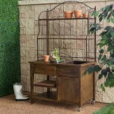 potting tables for sale coral coast courtyard rustic potting bench potting benches at