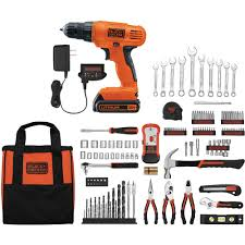 best black friday deals power drill black decker 20v lithium drill driver with 128 piece project kit