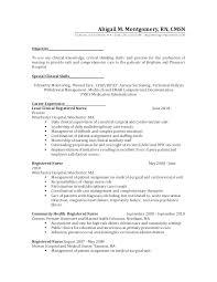 nursing resume objective exles rn resume objective resume for medical surgical position objective