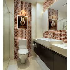 Bathrooms Painted Brown Wholesale Crystal Glass Tile Backsplash Kitchen Ideas Hand Painted