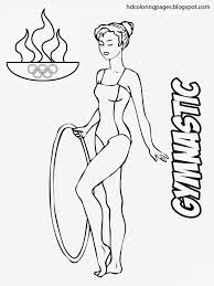 wonderful gymnastics coloring pages 69 2528