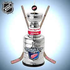 detroit wings stanley cup ornament collection wings
