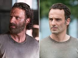rick grimes hairstyle walking dead season 5 rick grimes shaves his beard hot or not