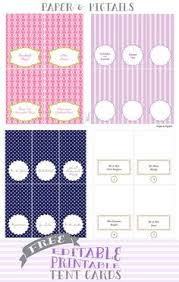 free printable table tents free printable confetti dessert bar labels place cards free