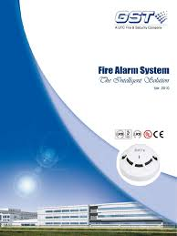 gst fire alarm system catalog power supply light emitting diode
