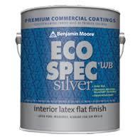 benjamin moore ecospec eco spec wb silver interior latex paint by benjamin moore