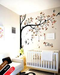 Wall Tree Decals For Nursery Nursery Wall Decor Bikepool Co
