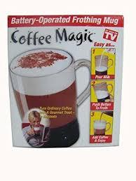Coffee Magic 1 x as seen on tv coffee magic battery operated