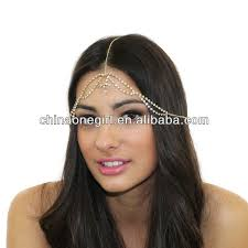 chain headband gold grecian chain headband headpiece indian inspired