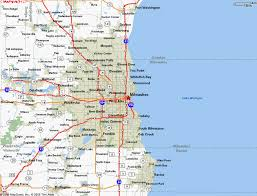 wisconsin map usa map of milwaukee wisconsin vacations travel map