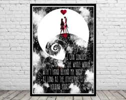 nightmare before christmas etsy